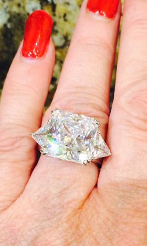 Jtv Customer And Charles Winston Devotee Dawn Gross Shows Off Her Lovely For Bella Luce Ring Item Cwb004